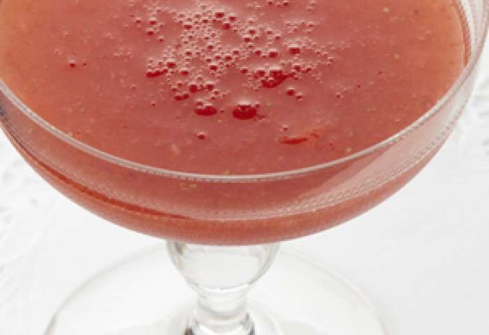 Daiquiri strawberry mocktail